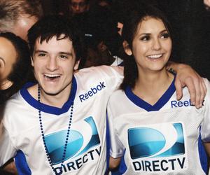 Nina Dobrev, josh hutcherson, and tvd image