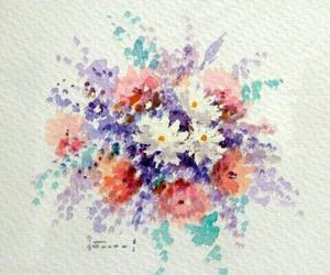 acuarela, colorful, and paint image
