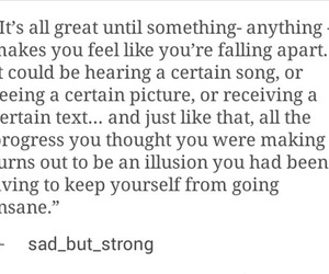 depressed, fall apart, and falling up image