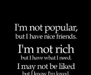 rich, friends, and popular image