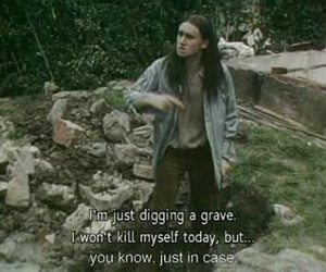 grave, suicide, and the young ones image