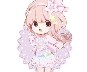 cute, anime, and chibi image