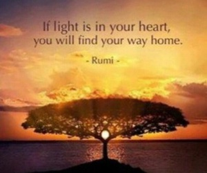 light, quotes, and home image