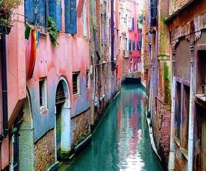 venice, travel, and water image