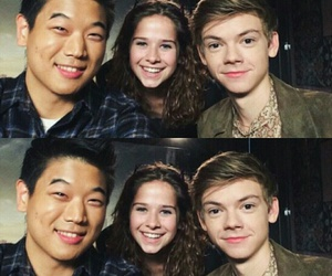 boys, thomas sangster, and maze runner image