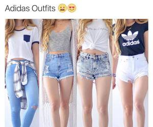 clothes, adidas, and outfit image