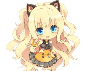 chibi, anime, and vocaloid image