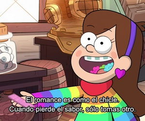 mabel, gravity falls, and chicle image