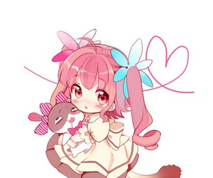 chibi, cute, and girl image