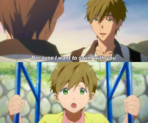 anime, anime boy, and free! image