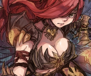 fairy tail and erza scarlet image