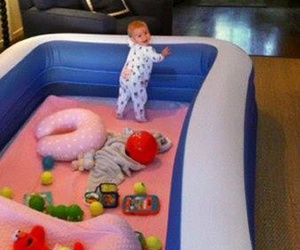 baby, funny, and awesome image