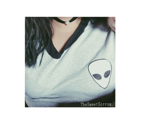 alien, fashion, and girl image