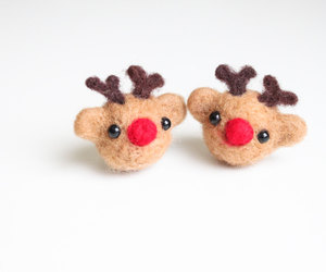 etsy, baby shower gift, and needle felted deer image