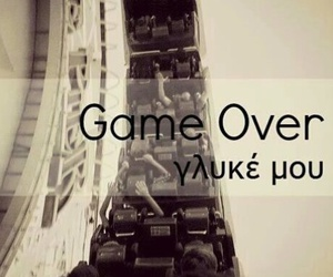 greek quotes, greek, and game over image