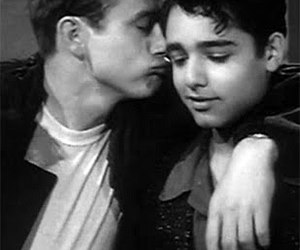 james dean, rebel without a cause, and sal mineo image