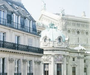paris, travel, and architecture image