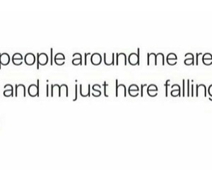 falling, quote, and sleep image