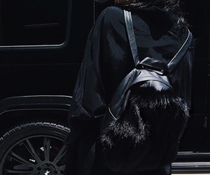 kylie jenner, black, and kylie image