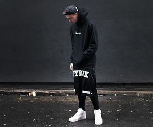 black, man, and swag image