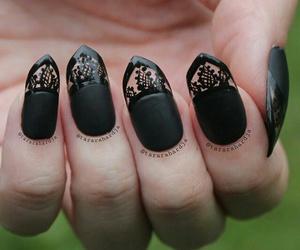 art, gothic, and nail art image