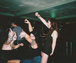 girl, hipster, and party image