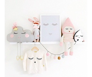 baby, bedroom, and decor image