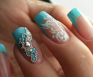 nails and franch image