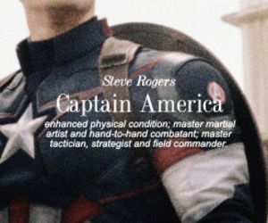 Marvel, captain america, and steve rogers image