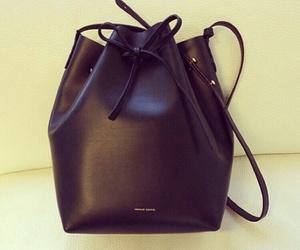 black, bag, and elegant image