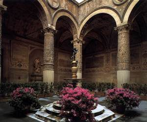 flowers, architecture, and art image