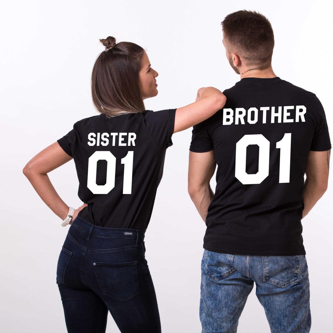 etsy, matching shirts, and brother sister shirt image