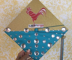 cap, college, and decoration image