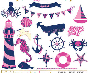 anchor, bunting, and etsy image