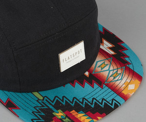 cap and 5 panel image