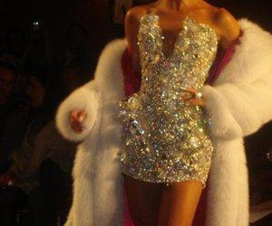 dress, luxury, and diamond image
