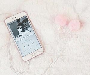 ariana grande, pink, and music image