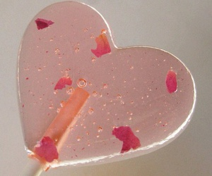 lollipop, pink, and heart image