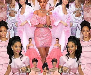 pink, Queen, and rihanna image