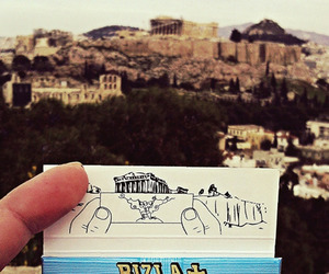acropolis, Athens, and Greece image