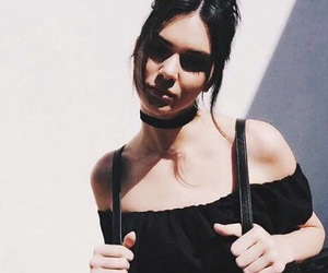 girl, Kendall, and model image