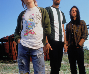 nirvana, grunge, and kurt cobain image