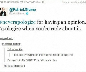 tumblr, fall out boy, and patrick stump image