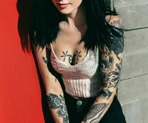tattoo, hannah snowdon, and alternative image