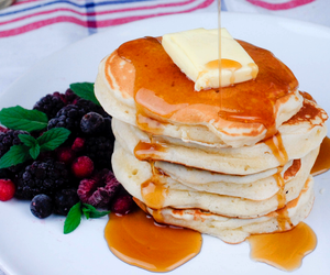 breakfast and pancakes image