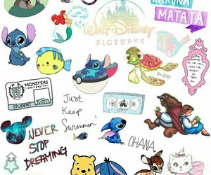 disney, wallpaper, and stitch image