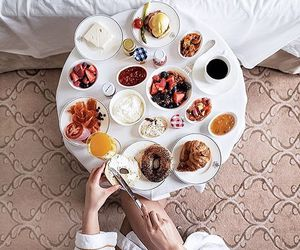 food, coffee, and girl image