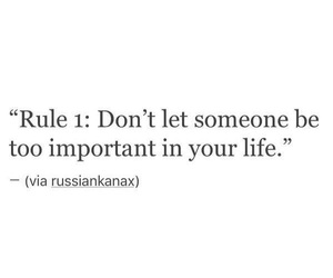 life, quote, and rule image