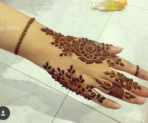 beautiful, henna, and lovely image