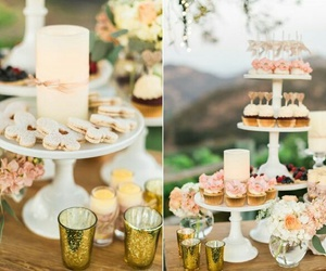 boda, candy bar, and pastel image